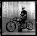 <h5>Wall of death rider Dave Seymour</h5><p>Wall of death rider Dave Seymour</p>