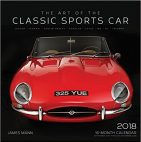Art of the Classic Sports car calendar 2018