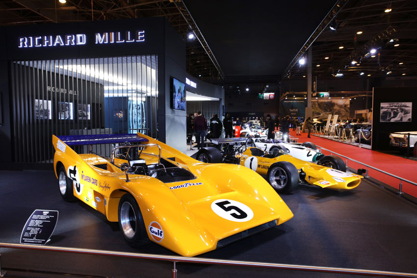 McLaren M8 with M7