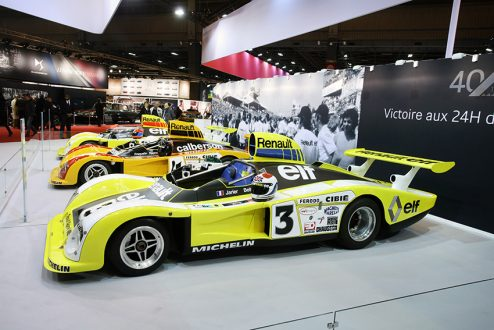 Renault Le Mans cars