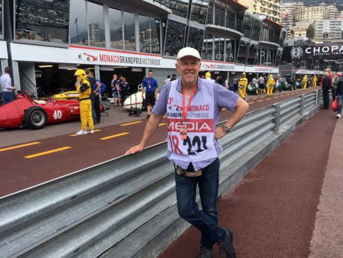 James Mann at Monaco