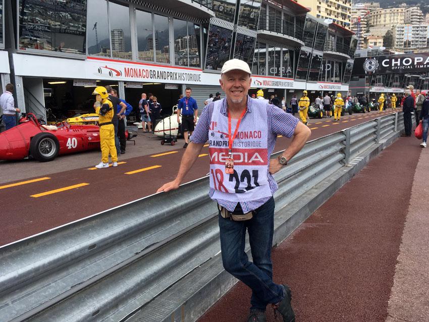 James Mann at Monaco